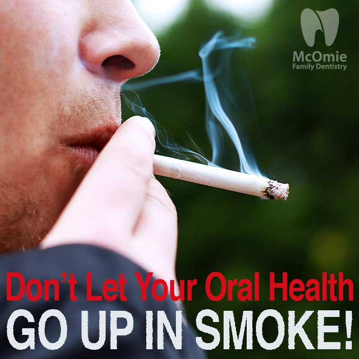 Smoking risk to your mouth