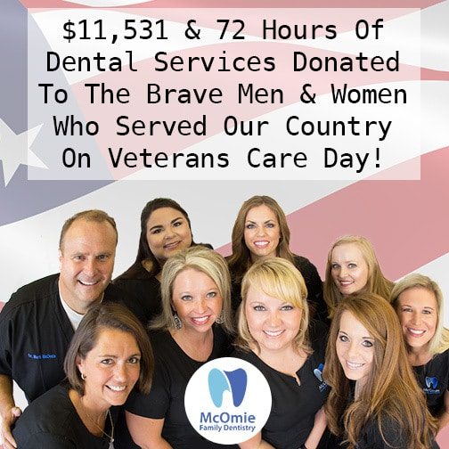 Veterans Day Free Dental Care