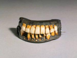 Presidents fake teeth