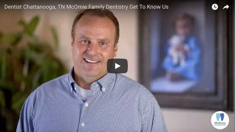 Dentist Dr. Mark McOmie