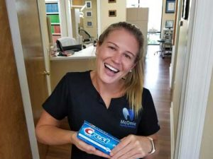 dental team toothpaste choice